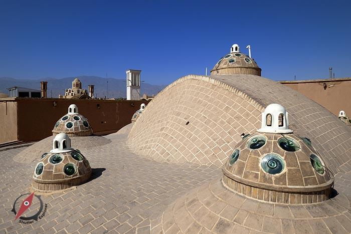เมืองคาชาน โรงอาบน้ำโบราณ 1