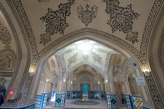 เมืองคาชาน โรงอาบน้ำโบราณ 3