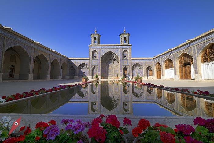 เมืองชีราส Pink Mosque 1