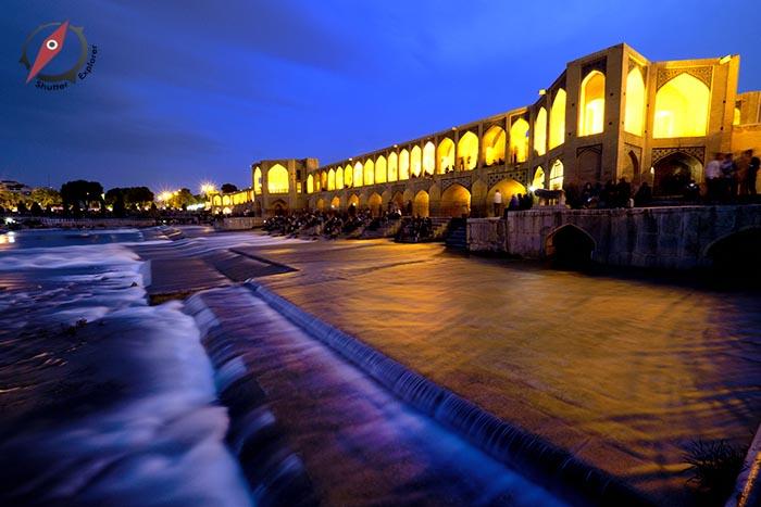 เมืองอิสฟาฮาน สะพานคาจู 1